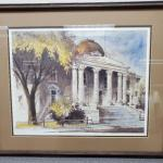 Lyle V. Ball Reno Court House Print  22/100