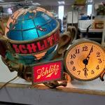 1976 Schlitz Brewing Company Light and Clock