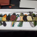 River of Goods - Birds on a Branch Stained Glass