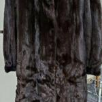 Luxurious Brown Full length Ladies Mink Coat