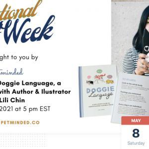 Photo of National Pet Week: Doggie Language with Lili Chin