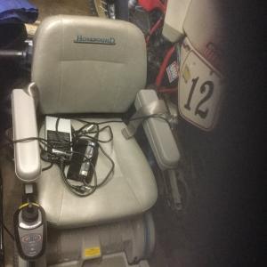 Photo of Hoveround Wheelchair