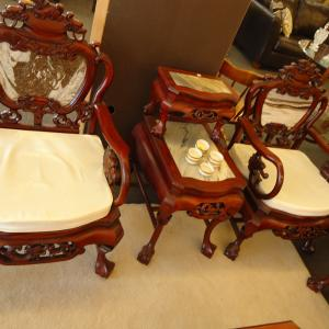 Photo of antique settee