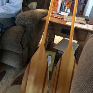 Photo of Canoe paddles