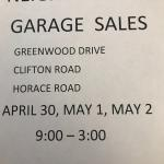 Neighborhood Garage Sales