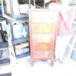 Sweet Mid Century Upright  Dresser - needs some TLC Druss Furniture Co. Galvesto
