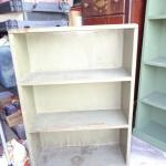 Vintage Green Book Shelf - See photos for size