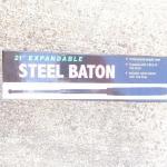 """21"""" Expandable Steel Baton"""