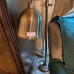 LOT 209 Metal Lamp