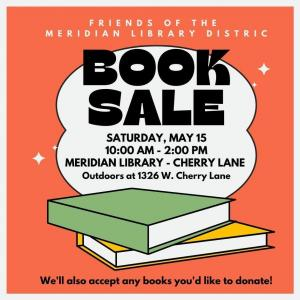 Photo of Used Book Sale at the Meridian Library