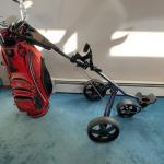 Golf pull/push cart