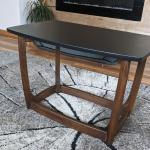 Walnut accent/coffee table