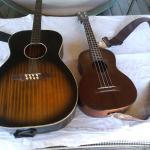 uke & guitar