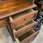 Solid Wood Rolltop Desk
