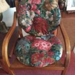 Two  cushion chair