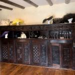 Carved Cabinet from Britney, France