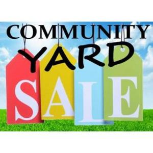 Photo of 3 COMMUNITY Yard Sales at TRP