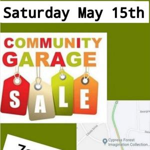 Photo of Cypress Forest Community Garage Sale