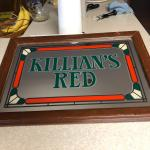 Killan's Red Mirror 20½ x 14½
