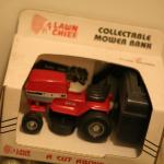 Lawn Chief Collectible Mower Bank in Box, 1/16 Scale, Diecast Metal, USA-READ AD