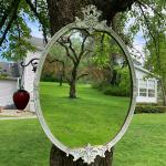 Antique Victorian accent ornate mirror! 973-600-3177