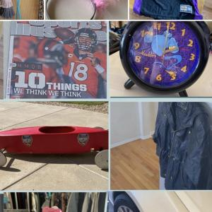 Photo of High End Yard Sale Lululemon Toys Bikes Home Decor Sports Memorabilia & More