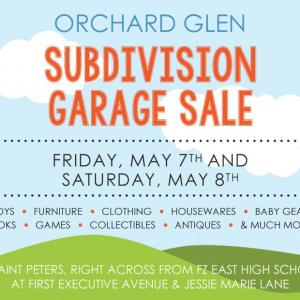 Photo of LARGE SUBDIVISION GARAGE SALE THIS WEEKEND!