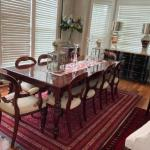 10x Mahogany Dinning Room Chairs