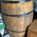 Wooden Wine Barrell