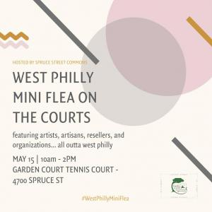 Photo of West Philly Mini Flea on the Courts