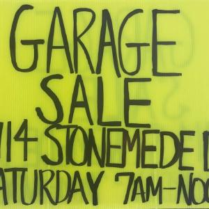 Photo of Garage Sale-THIS SATURDAY