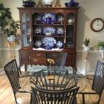 County French China Cabinet that all Wood