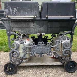 Photo of Lot S1 - Cast IronCharmglow Double Grill Model CCP83