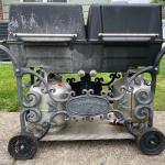 Lot S1 - Cast IronCharmglow Double Grill Model CCP83