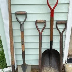 Photo of Lot S7- Shovels for days lot