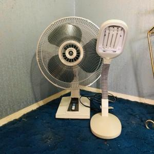 Photo of Lot 167HW: Sanyo Fan & Solarex Lamp