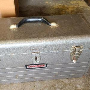 Photo of Lot 64: Craftsman Toolbox with Tools