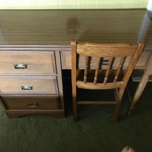 Photo of Lot 164B1:  Northeast Home Furniture Student Desk & Chair