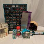Lot 263 - Cross Stitch, Embroidery Thread, and Crafts Galore!