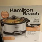 Lot 261 - Hamilton Beach Slow Cooker & Coffee Maker