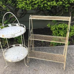 Photo of Lot 80G:  Vintage Plant Stands