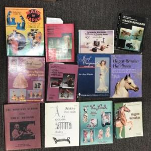 Photo of Antiques and Collectible reference book lot - 12 books