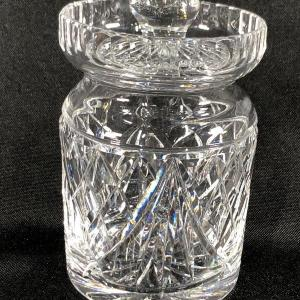 Photo of Small Waterford Crystal Jelly Jam Jar with Lid