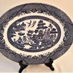 Lot #44  Blue Willow Platter