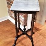 Lot #45  Marble Top Side Table - Decorator Piece