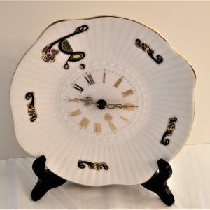 Photo of Lot #1  TARA Fine Bone Irish China Clock
