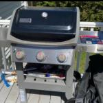 Weber spirit II natural gas grill