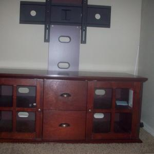 Photo of Entertainment Cabinet with TV mount