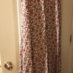 Clean used beautiful 22/24 size beach colorful beach clothes