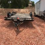 2017 Big Tech CH7 0 18 foot Trailer with a dove tail